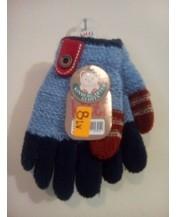 Детски ръкавици лукс сини