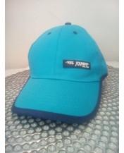 Синя детска шапка с козирка 54 см