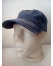 Мъжка шапка Кастро Класик ТъмноСива