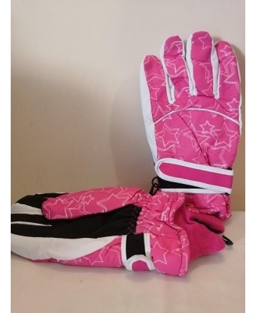 Шушлякови ръкавици Розови
