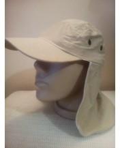 Мъжка лятна шапка кърпа с козирка
