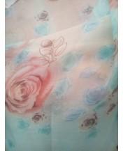 Нежен шал вискоза Розички