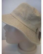 Мъжка шапка идиотка бежов деним