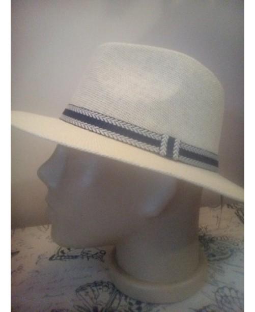 Мъжка лятна шапка Права периферия Бежова 1
