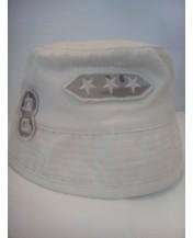 Детска шапка идиотка Бежова 54 см