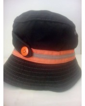 Детска шапка идиотка Черна 54 см