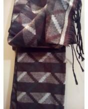 Мъжки шал Пастелно кафяв