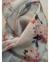 Нежен шал Цветчета