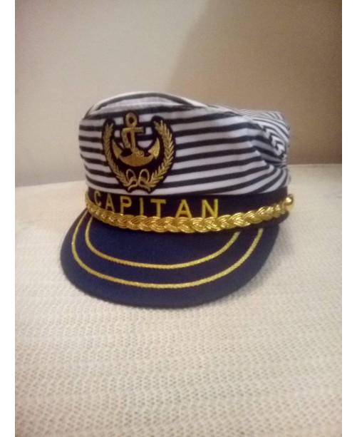 Моряшка капитанска шапка 54 см