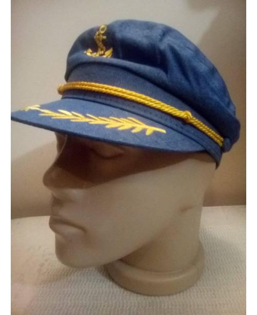 Лятна дънкова шапка с Котва