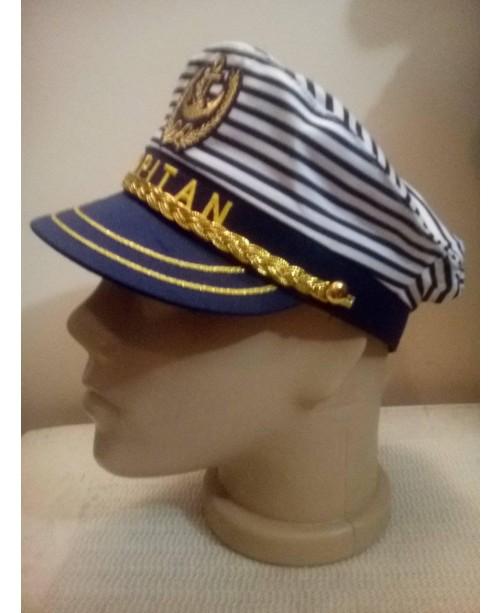 Моряшка капитанска шапка 58 см
