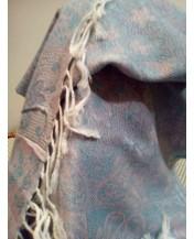 Свеж шал Пашмина с ресни