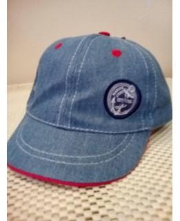 Бебешка лятна шапка Дино