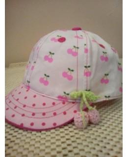 Бебешка шапка Черешки 42 см