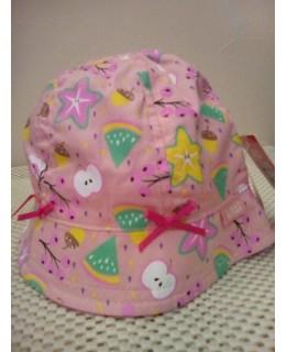 Бебешка лятна шапка Корал 44 см