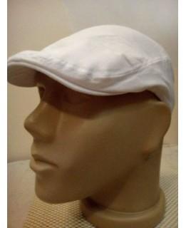 Бял летен каскет