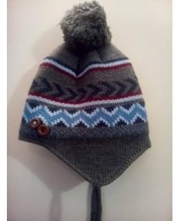 Детска плетена шапка 54 см