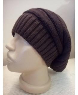 Дамска висяща шапка Кафява