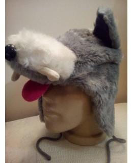 Зимна шапка Вълк