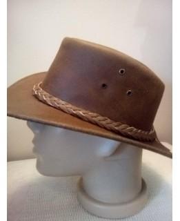 Каубойска шапка Естествена кожа 2021