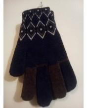 Плетени ръкавици Вълна Мъжки