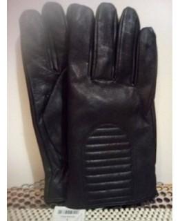 Черни кожени ръкавици Мъжки
